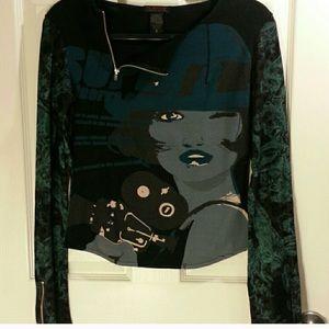 Custo Barcelona designer long sleeve shirt